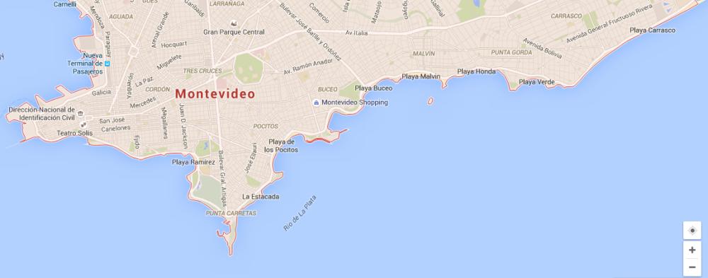 Donde llegar/vivir en Montevideo (1/2)