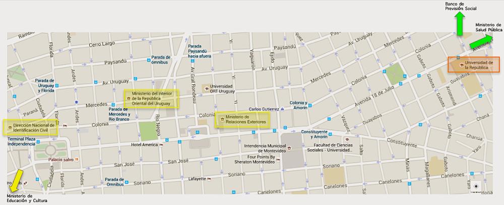 Donde llegar/vivir en Montevideo (2/2)