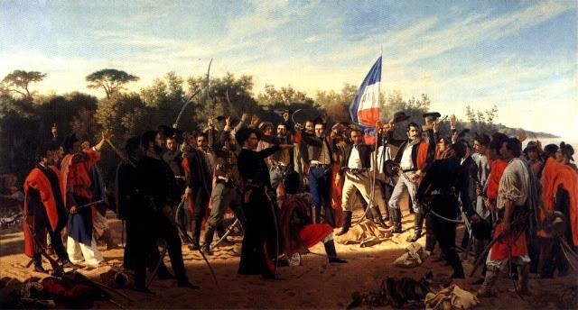 Juan Manuel Blanes, El juramento de los Treinta y Tres Orientales (1878)